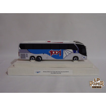 Miniatura Ônibus Auto Viação 1001 Neobus New Road 380