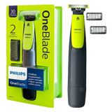 Barbeador Elétrico Philips One Blade Oneblade Qp2510/10