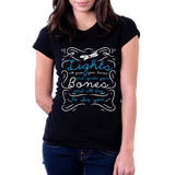 Camiseta Blusa Feminina Fix You Coldplay