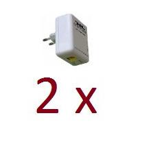 Kit 2 Plc500 Internet Pela Rede Elétrica É Plc500 Powerline