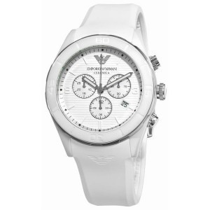 fd79686951c Relógio Emporio Armani Ar1435 Branco Original