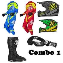 Kit Equipamentos Asw Ims Basico!!! Motocross Trilha Enduro