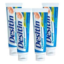 Kit Com 4 Cremes Preventivo De Assaduras Desitin Creamy 113g