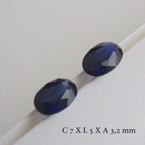 Safira Pedra Preciosa Preço Do Par Safira Azul 3065a