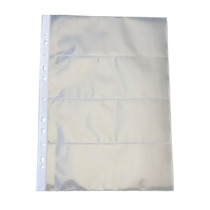 Folha  Para Cédula  4 Divisões Polipropileno (49516)
