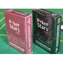 Kit 2 Baralhos Pokerstars.net Poker Copag