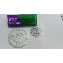 Kit Relação Competição Cg-titan125 83/99 C/coroa 36 Dentes