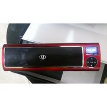 C3 Tech Caixa De Som Midi Box St160ii Vermelha-preta Saldo*
