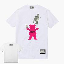 1d9d07897 Camisa Camiseta Grizzly Gritape Logo Dollar Skate + Adesivo