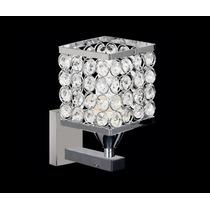 Arandela Cristal Clássico Lustre Cristal Para Parede Lumi