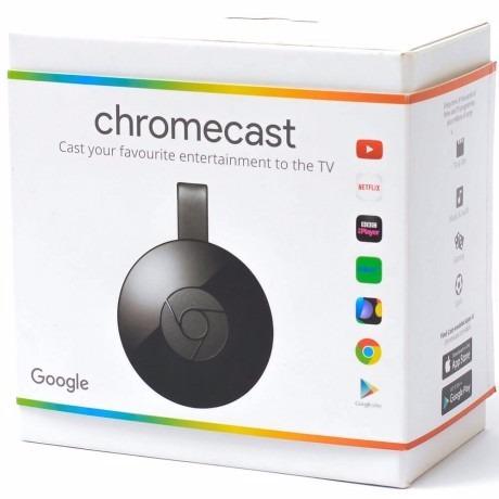 Chromecast 2 Google Smart Tv Hdmi 1080p 100% Original  2017