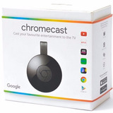 Google Chromecast 2 Hdmi 1080p 100% Original 2017 Lacrado