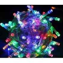 Pisca Natal 100 Lâmpadas Led Coloridas 8 Funções, 9m, 110v