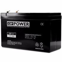 Bateria Selada Csp Power 12v 7ah 7 Ah 7,2 Ah 7.2ah P Nobreak
