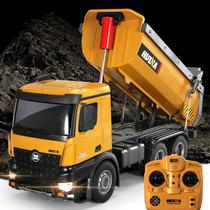 Novo Truck Caminhão Huina 1573 Rc 10 Canais Realista Forte !