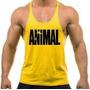 Kit Com 5x Camisetas Regatas Super Cavada Animal P/ Academia