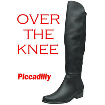 20%off Bota Over The Knee Piccadilly 50 Cm Acima Do Joelho