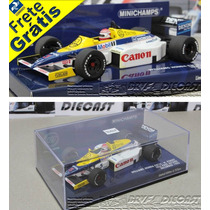 1/43 Minichamps Williams Fw10 Nelson Piquet F1 1985