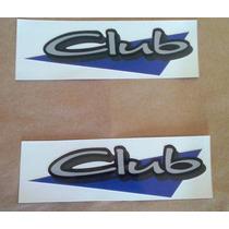 Adesivo Emblema Parati Club