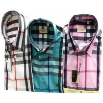 Camisa Socal Masculina Bbr Xadrez Rosa - Frete Grátis