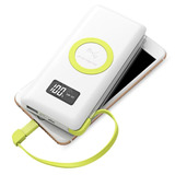 Power Bank Pineng Qi Fast Charge 10.000mah Usb 3.0 Wireless