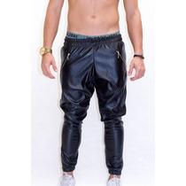 Rich Young - Calça De Couro Black Swag