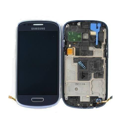 Tela Vidro Display Lcd Touch Samsung S3 Mini Gt I8190 Azul