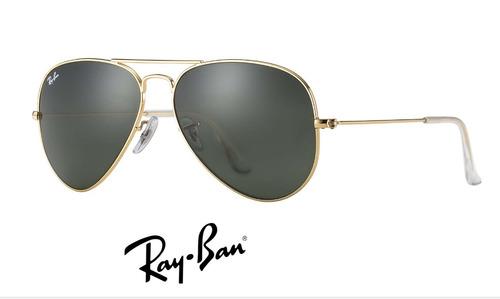 Ray Ban Aviador 3025 Original 15 Cores C  Garantia + Brinde. R  179.93 37deb2a6a4