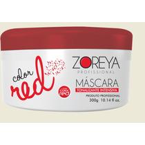 Mascara Matizadora Vermelha Zoreya 300g Lumini Color Red