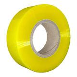 10 Fita Larga Transparente 500m Adesivas Embalar Durex