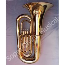 Tuba Sinfônica 4/4 Sib 4 Pistos Hoyden Htbs 50pl J981