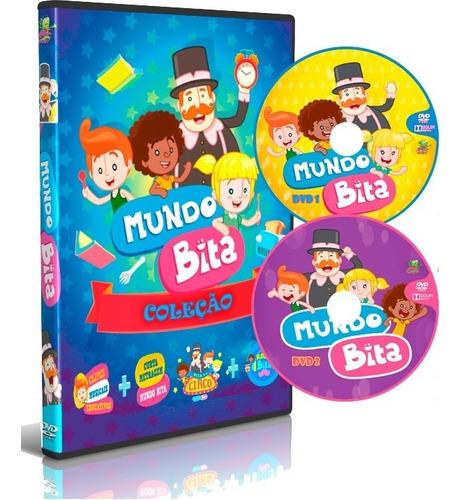 Dvd Box Coleção Mundo Bita Completo 8 Em 2 Dvd's