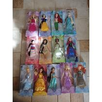 Princesas Disney 11 Bonecas C/ Anna Elsa Frozen Disney Orig