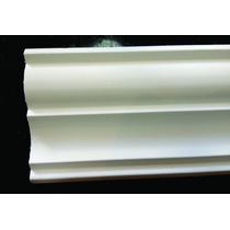 Moldura De Isopor 12cm 5,95 Metro Linear - Substitui O Gesso