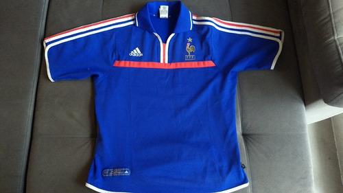 Camisa Oficial Da Seleção Da França De 2000 adidas Raridade 910eb30a176a9