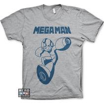 Camisetas Megaman Mega Man Capcom X Desenhos Games