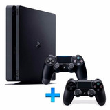 Playstation 4 Slim Sony 1000gb Ps4 1tb 2 Controles