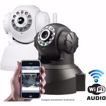 Camera Ip Wireless Visão Noturna Iphone Android C/ Micro Sd
