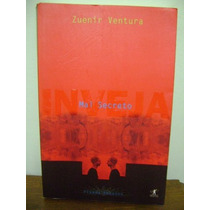 Livro Inveja Mal Secreto - Zuenir Ventura