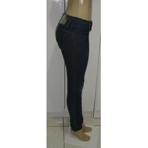 Calça Jeans Fem.marca 767 Tam. Médio C/ Strech Semi Nova