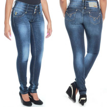 Calça Jeans Sawary Levanta Bumbum Com 3% Elastano Sabrina