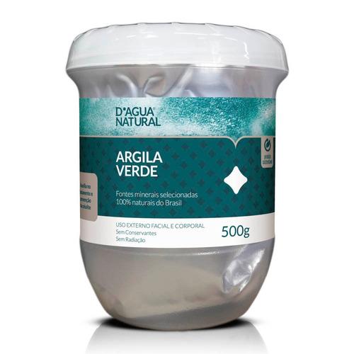 Argila Verde 500g Corporal E Facial Dágua Natural
