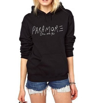 Blusa Paramore Moletom Canguru - Promoção !!!
