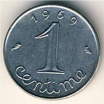 França - 1 Centime - 1.967