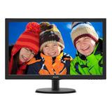 Monitor Philips 223v5lhsb2 Lcd 21.5  Preto 110v/220v