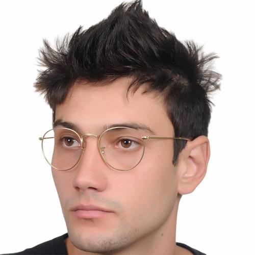 Armação P  Óculos De Grau Retro Vintage Geek Redondo Stilo 6e97816b37