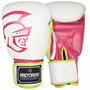 Luva De Boxe Pretorian Training(branco E Pink)(10oz)