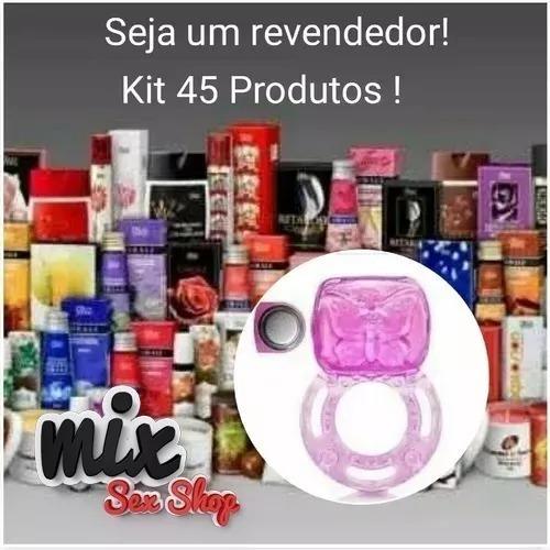 Kit Sexshop 45 Produtos Atacado Revenda Promocao Sex Shop