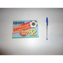 Album Equipe Espanha Copa 1982 Da Premio S/ Editora Vazio