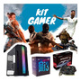 Pc Gamer I3+ Rx 550 4gb+ Gabinete Rgb & Roda Todos Os Jogos Original